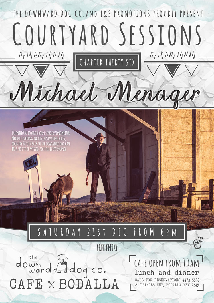 Courtyard Sessions Featuring Michael Menager